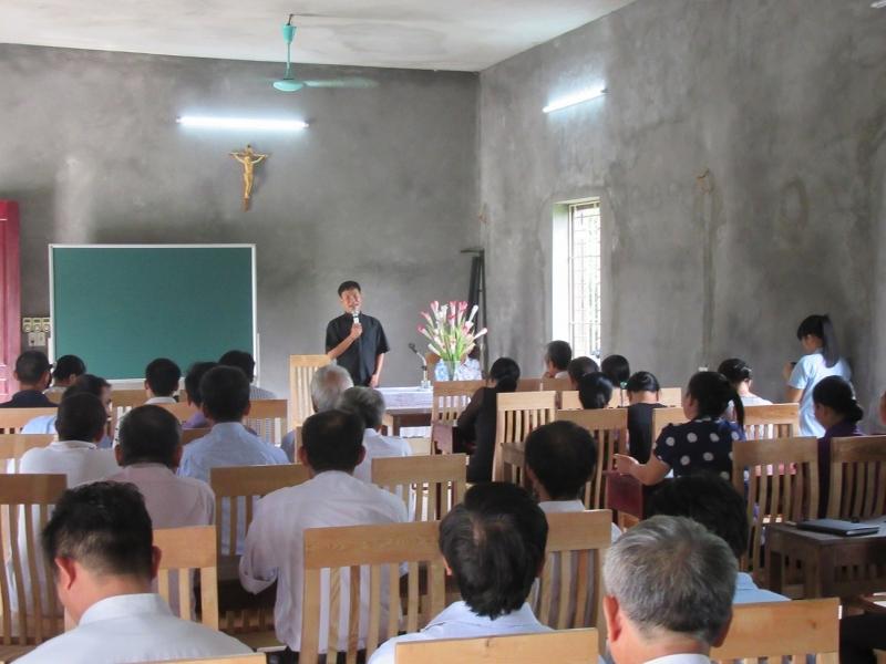 Caritas Bắc Ninh tổ chức tập huấn cho cộng tác viên cộng đồng