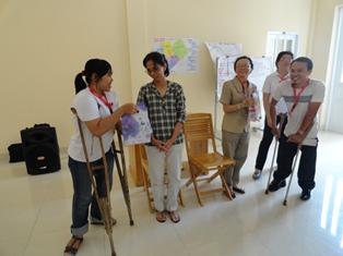 Khóa tập huấn của Ban khuyết tật Caritas Việt Nam