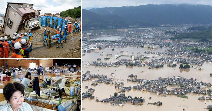 Nhật Bản nỗ lực giải quyết hậu quả của trận lũ lụt lớn nhất trong nhiều thập kỷ