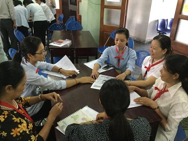 """Khóa tập huấn """"Kỹ Năng Thúc Đẩy Nhóm"""" tại Tòa Giám Mục Bắc Ninh"""