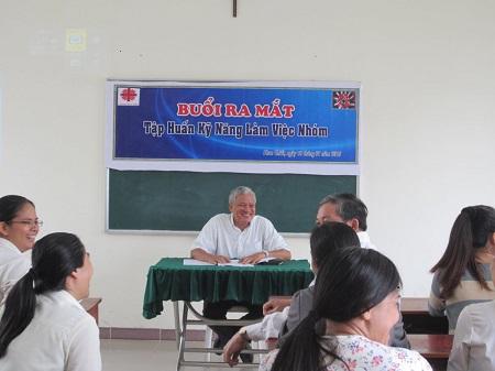 Caritas Phan Thiết: Tập Huấn Về Kỹ Năng Làm Việc Nhóm
