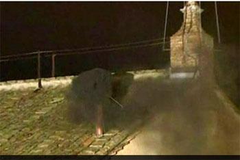 Sau phiên bầu thứ 1: khói đen bốc lên báo hiệu chưa có tân Giáo hoàng