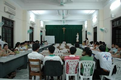 Buổi Họp BĐH Cho Chương Trình Tiếp Sức Mùa Thi 2012