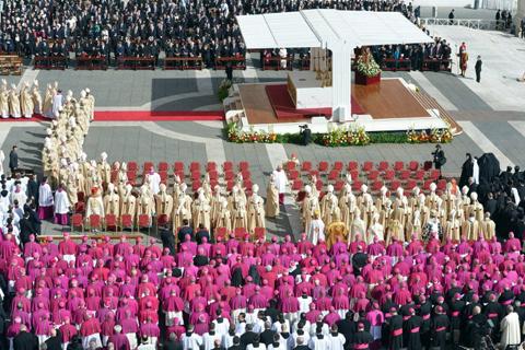 Thánh lễ khai mạc sứ vụ Phêrô của Đức Thánh Cha Phanxicô, Giám Mục Roma
