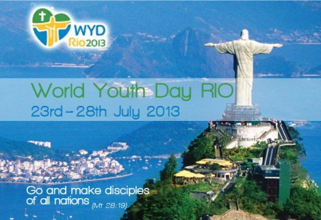Đại hội Giới trẻ Thế giới 2013 sẽ lớn hơn cả FIFA World Cup 2014