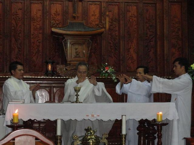 Kết thúc khóa Tập huấn cho người tập huấn cho 3 Giáo phận Huế, Qui Nhơn và Đà Nẵng