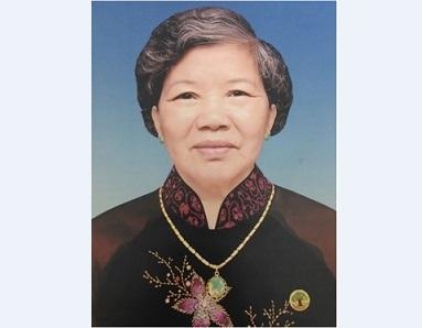 Ai tín: Bà cố Maria Đinh Thị Tấc - Thân mẫu của Nứ tu Maria Têrêsa Nguyễn Thị Kim Dung, vừa tạ thế