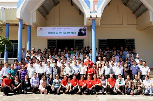 Caritas Đà Lạt tổ chức tập huấn Kỹ Năng Sơ Cấp Cứu Nạn Nhân