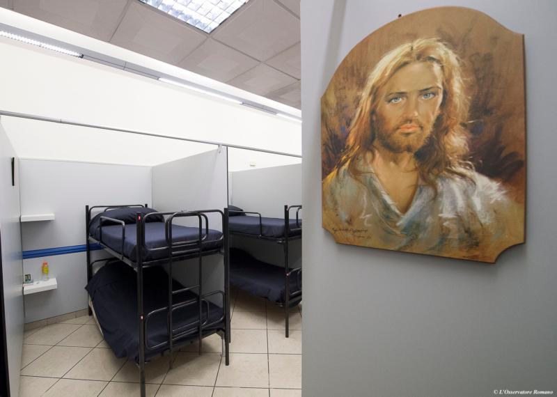 Đức Giáo Hoàng mở nhà trọ cho người vô gia cư