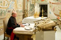 Tuần tĩnh tâm mùa Chay 2013 của Đức Thánh Cha