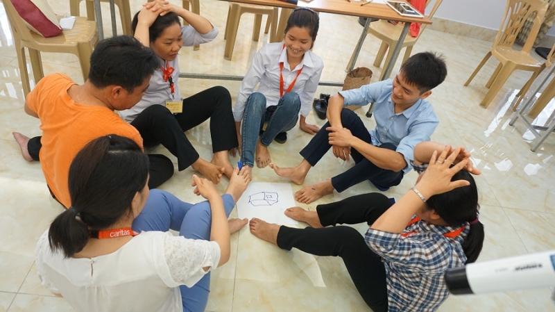 """Caritas Việt Nam: Khóa tập huấn """"Nghiệp vụ cơ bản hỗ trợ người khuyết tật hòa nhập cộng đồng"""""""