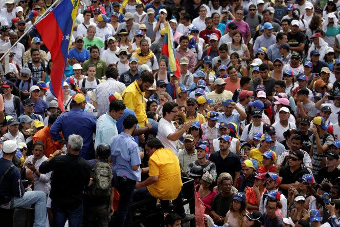 Tình hình nghiêm trọng tại Venezuela