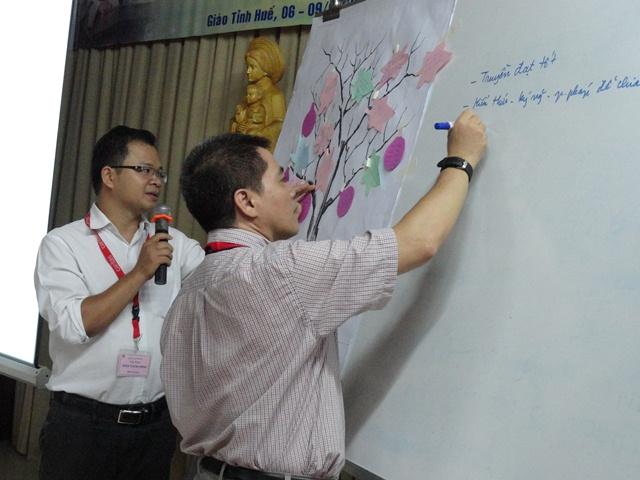 Caritas Việt Nam: khóa ToT tại Trung tâm Mục vụ Giáo phận Huế