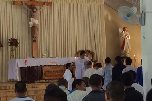 Thánh Lễ mừng Đức Maria Vô Nhiễm Nguyên Tội tại cơ sở tâm thần tình thương Trọng Đức