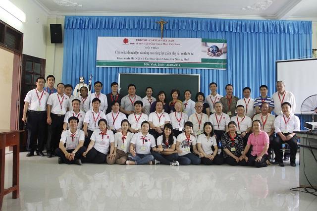 Hội thảo: Chia sẻ kinh nghiệm và nâng cao năng lực giảm nhẹ rủi ro thiên tai