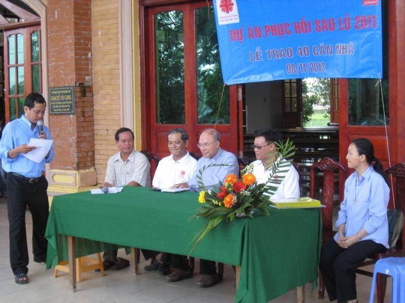 Caritas Việt Nam: Trao 40 căn nhà tại Đồng Tháp