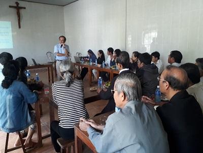 Caritas Giáo Phận Huế: Thành lập nhóm Cộng Tác Viên Cộng Đồng tại Hạt Hải Vân