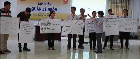 """Caritas Việt Nam: Tập huấn """"Quản Lý Nhóm"""" cho hai Ban Hỗ Trợ Người Khuyết Tật và HIV thuộc giáo tỉnh Miền Bắc."""