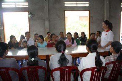 Caritas Phan Thiết tổ chức chuyên đề sức khỏe cho chị em phụ nữ Cà Tang