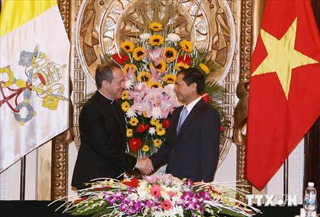 Thông cáo về việc gặp gỡ giữa phái đoàn Tòa Thánh và Việt Nam