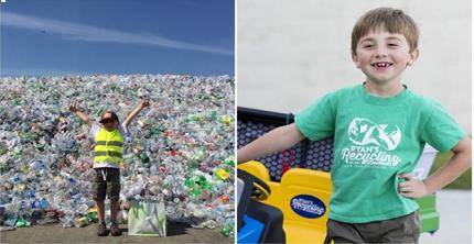 CEO trẻ nhất thế giới, khởi nghiệp trong lĩnh vực tái chế rác khi mới 3 tuổi
