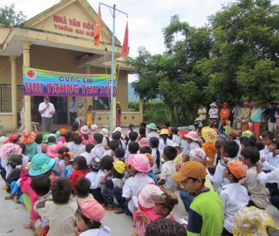 Caritas Phan Thiết Cùng Em Rộn Ràng Vui Trung Thu 2012