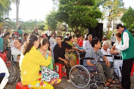 Ngày Hội Khuyết Tật Giáo Phận Vĩnh Long Chủ đề: Đức Kitô Niềm Hy Vọng của Tôi