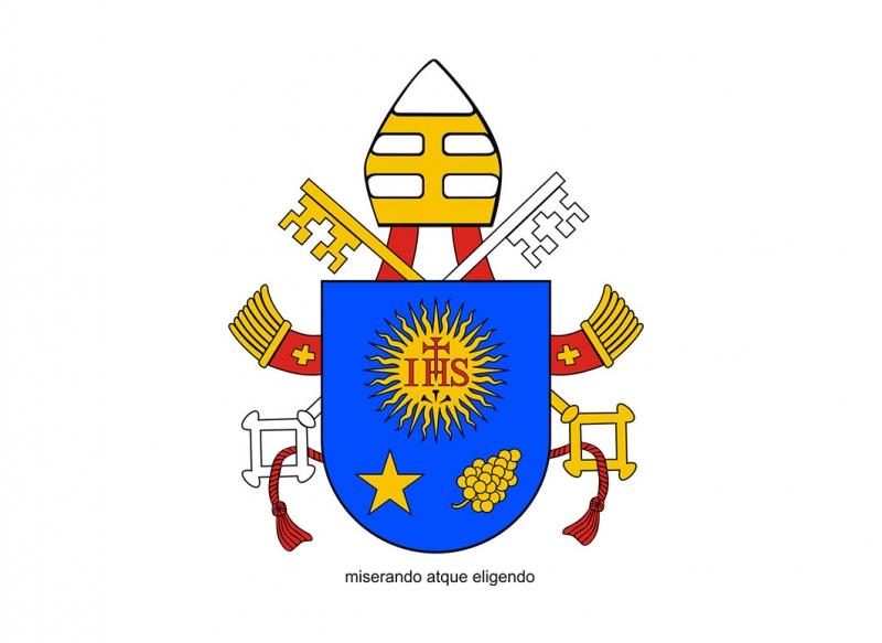 Công bố huy hiệu của Đức Giáo Hoàng Phanxicô