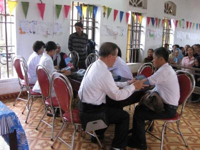 Caritas Bùi Chu - Khám bệnh từ thiện cho người nghèo