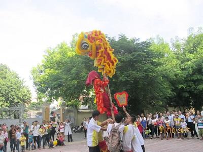 Caritas Huế và Phòng khám từ thiện Kim Long tổ chức Trung Thu cho trẻ OVC
