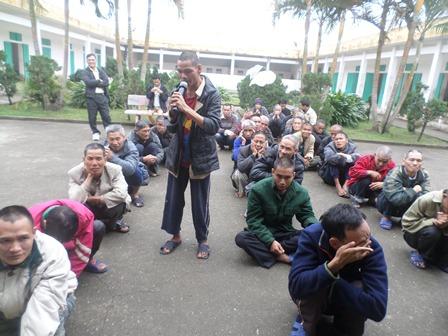 Caritas Bùi Chu tới thăm và chúc tết Trung tâm Bảo Trợ Xã Hội Nam Định