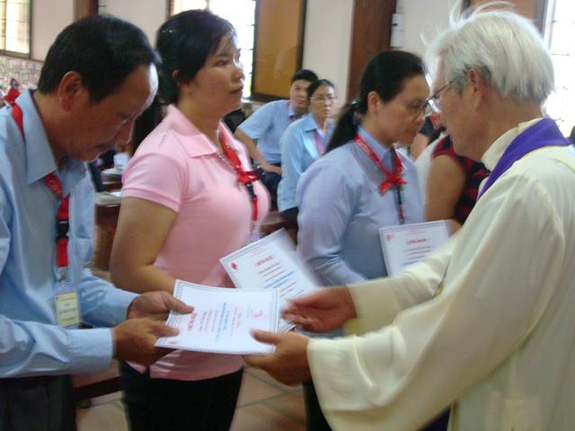 Caritas Việt Nam: Bế giảng khóa Tập huấn Emmaus III