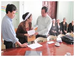 Thăm lại gia đình các nạn nhân vụ chìm tàu tại Cồn Nâm và Cồn Sẻ (Quảng Bình)