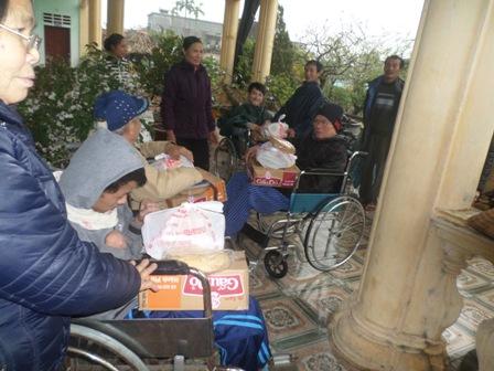 Caritas Bùi Chu đem Mùa Xuân đến cho những người nghèo trong giáo phận