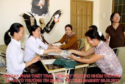 Caritas Phan Thiết: thành lập Quỹ Tín Dụng – Tiết kiệm tại Đagury Đa Mi