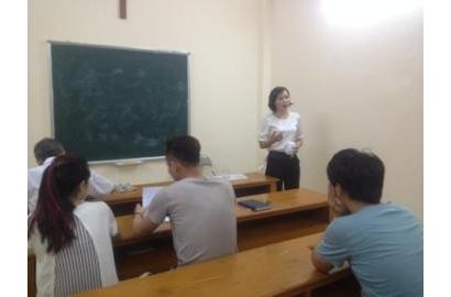 Caritas Hải Phòng: truyền thông kiến thức cơ bản về HIV cho học viên lớp giáo lý hôn nhân tại Giáo xứ An Hải