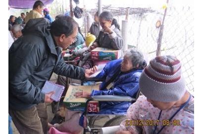 Caritas Huế: Vui Giáng Sinh - Mừng Năm Mới 2018 với anh chị em khuyết tật