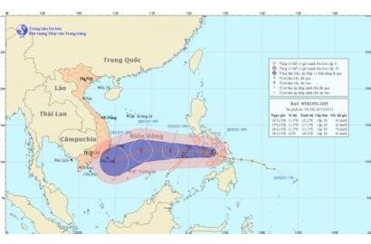 Tin Bão gần biển Đông (cơn bão Wukong)