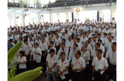 Caritas Tổng Giáo phận Sài Gòn tĩnh tâm Mùa Chay
