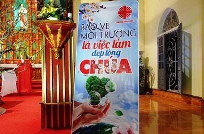 Caritas Hải Phòng: Truyền Thông Bảo Vệ Môi Trường tại Giáo xứ Lão Phú