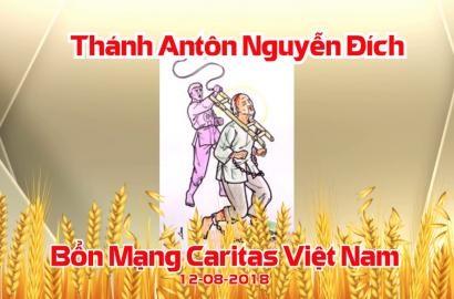 Caritas Việt Nam: Thánh Lễ Bổn Mạng Antôn Nguyễn Đích