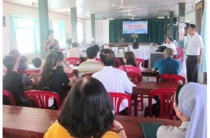 Caritas Huế - Tập huấn Quản lý Kinh tế Gia đình cho người nhiễm HIV