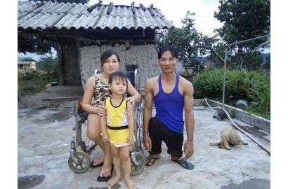 Chuyên tình cổ tích của cặp vợ chồng khuyết tật