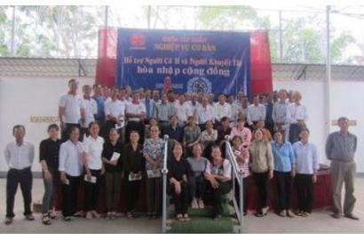 Caritas Phan Thiết: Tập Huấn Nghiệp Vụ Cơ Bản  Hỗ Trợ Người Có H Và Người Khuyết Tật Hòa Nhập Cộng Đồng