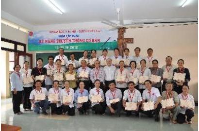 Caritas Việt Nam: Bế mạc khóa tập huấn Kỹ năng Truyền thông