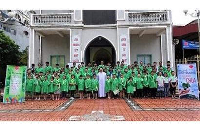 Caritas Hải Phòng: Cầu nguyện cho việc Bảo Vệ Môi Trường năm 2018