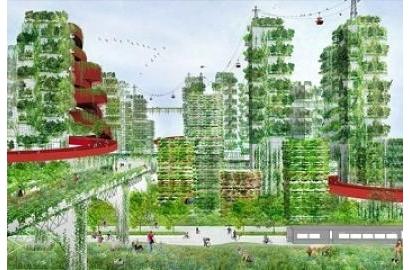 Giờ đây xây thành phố phải thuận theo tự nhiên