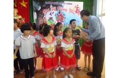 Caritas Hải Phòng vui tết Trung Thu với trẻ khuyết tật