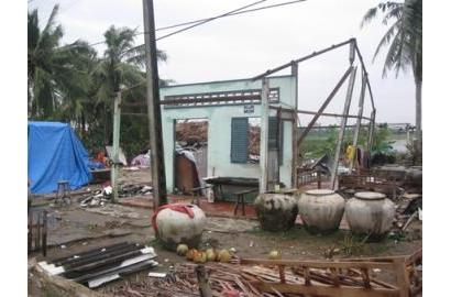 Caritas Việt Nam hỗ trợ phục hồi thiệt hại do Lốc xoáy tại Xã Mỹ Bình - Huyện Ngã Năm – Tỉnh Sóc Trăng