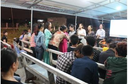 Caritas Hải Phòng truyền thông kiến thức HIV tại Giáo xứ Kim Lai